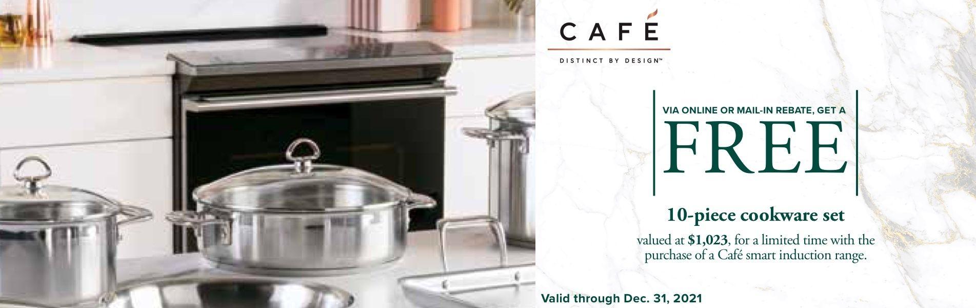 Cafe - Free 10 Piece Kitchenware Set