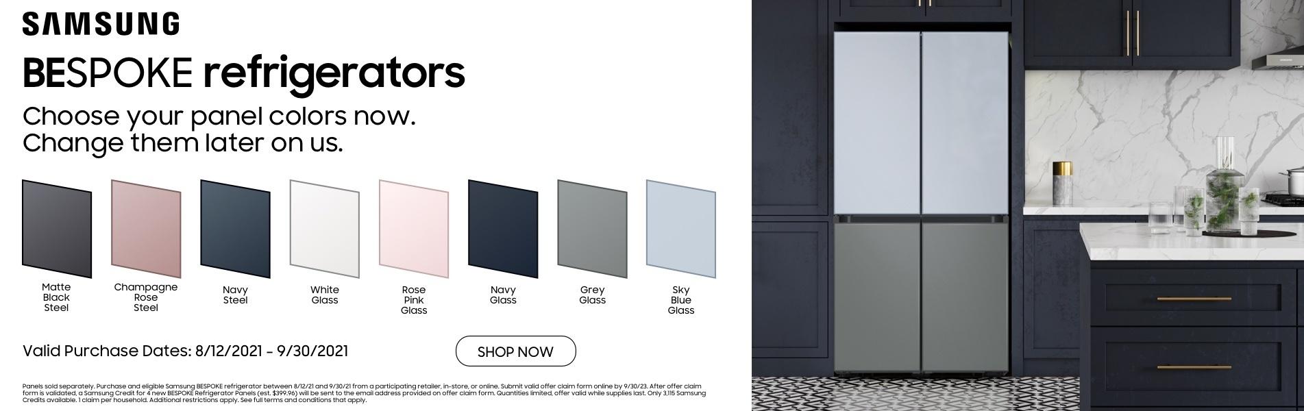 Samsung BESPOKE Panel Switch Promo
