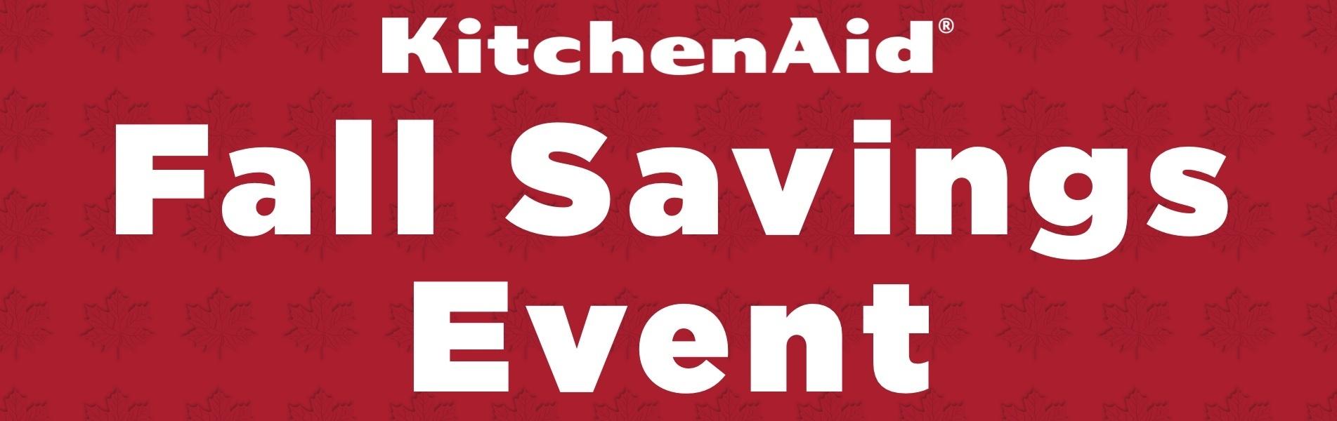 KitchenAid Fall Savings 2021 V2