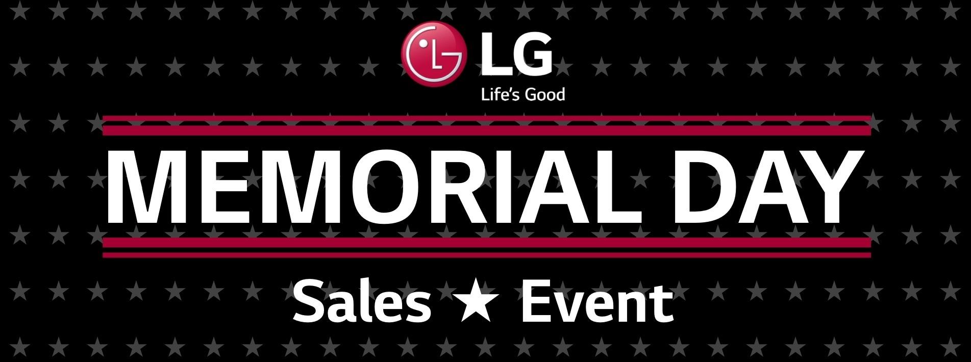 LG Memorial Day 2021