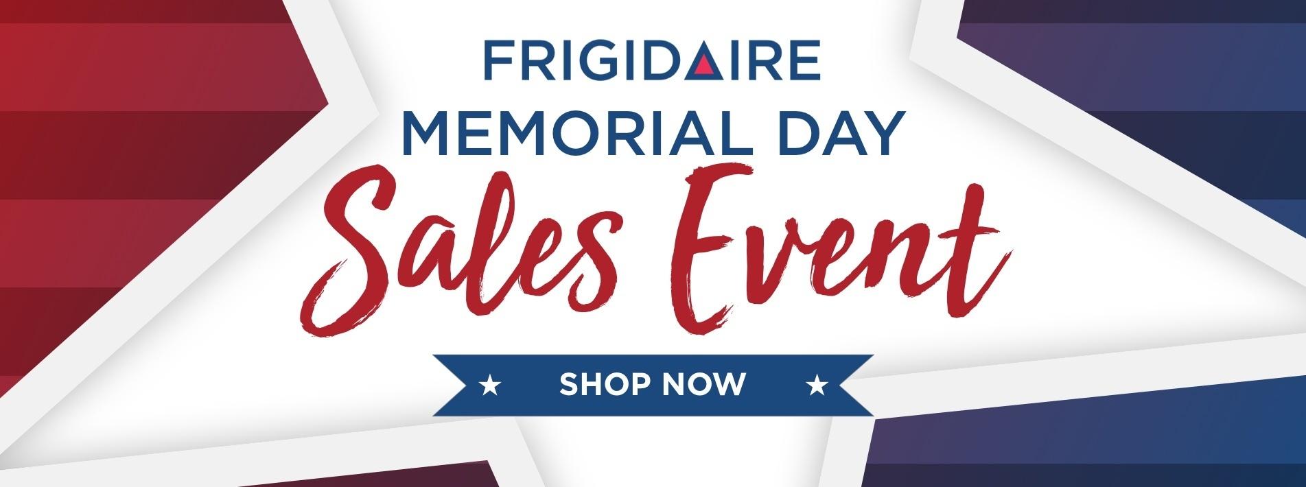 Frigidaire Memorial Day 2021
