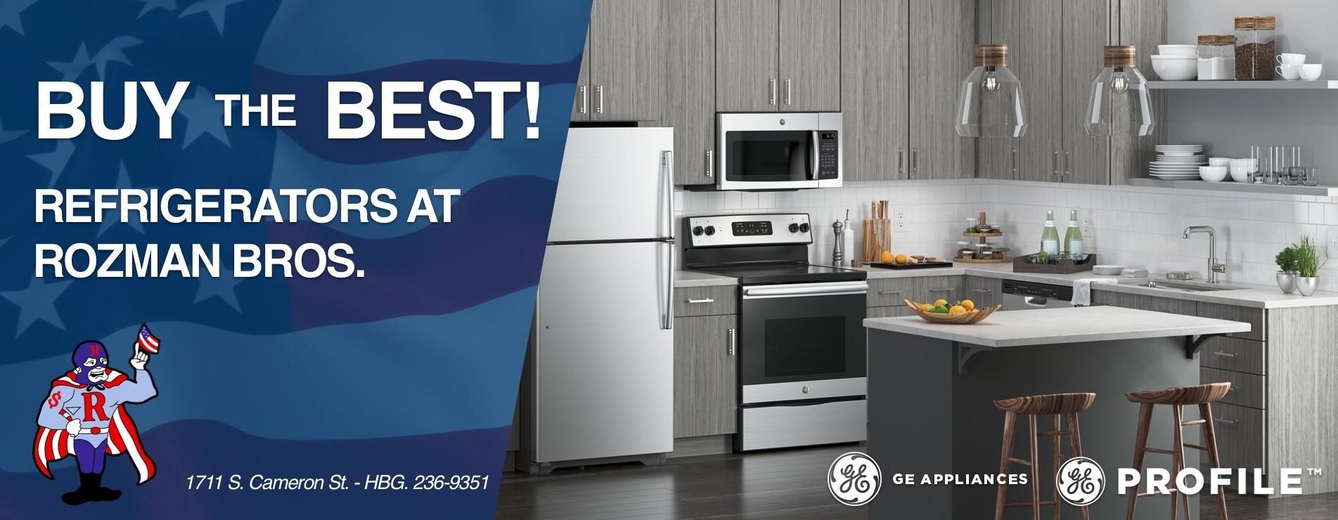 GE Refrigeration Generic Banner