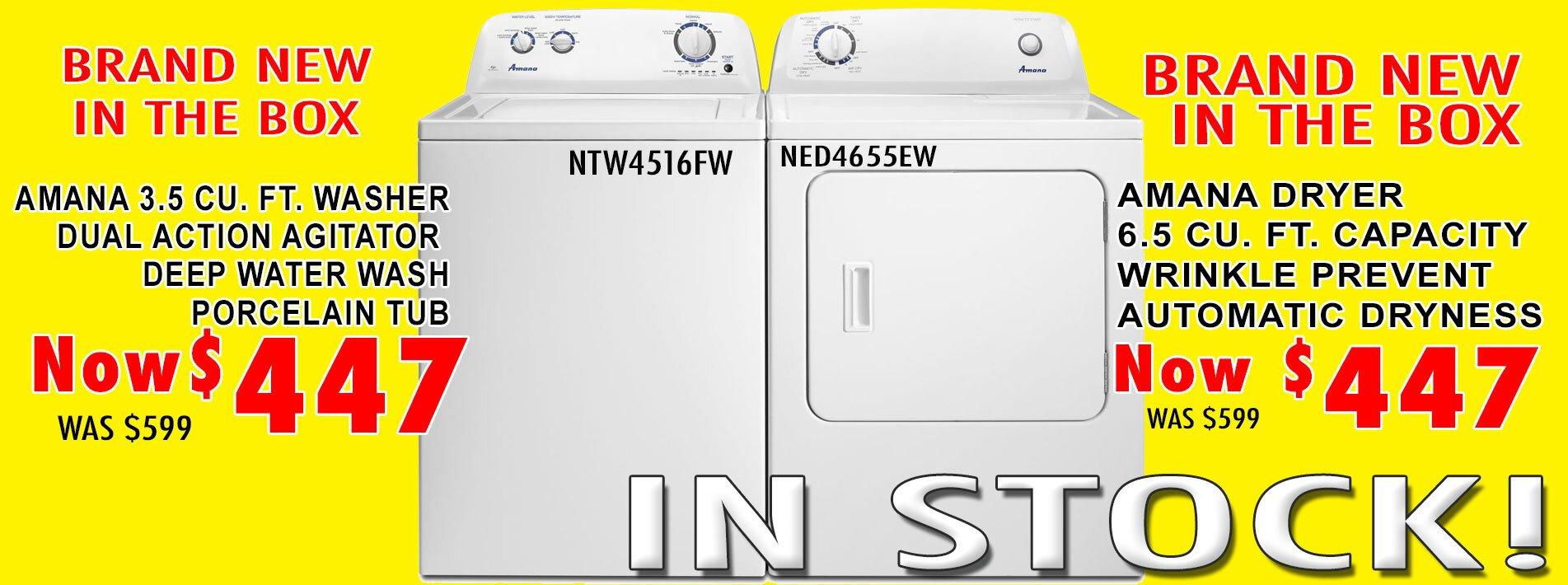 NTW4516FW NED4655EW