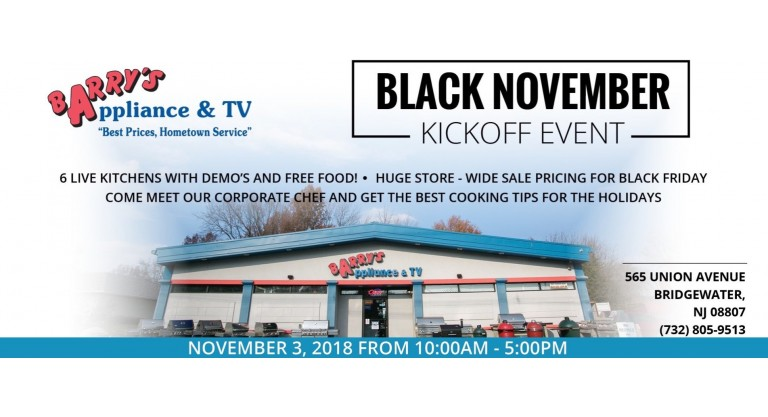Black November Kickoff Event