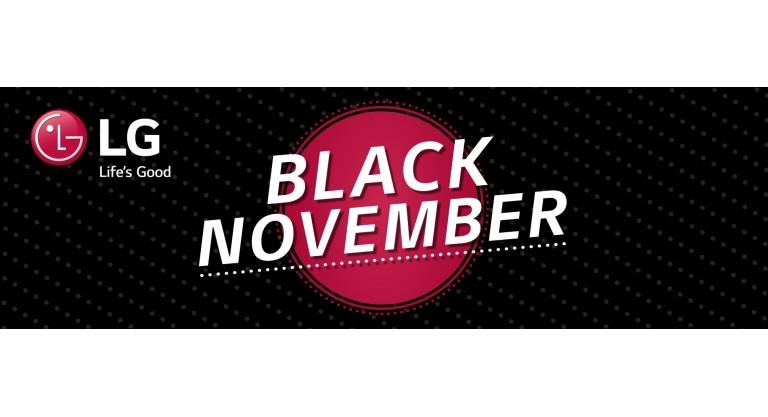 LG Black November Promotion
