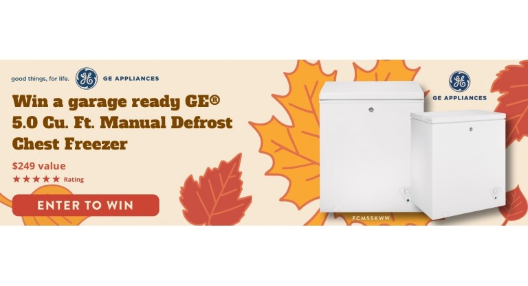 Chest Freezer Giveaway