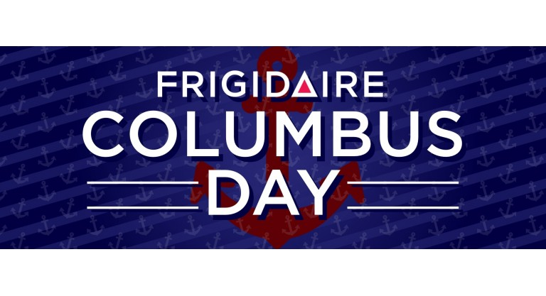 Frigidaire Columbus Day Promotion