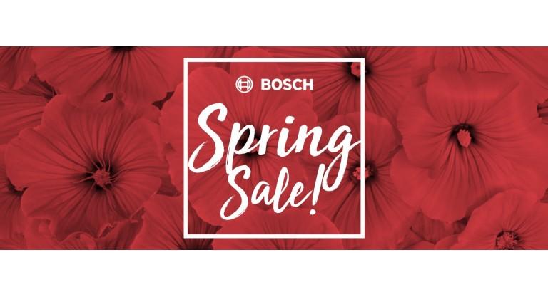 Bosch Spring Sale