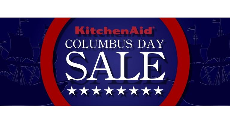 Kitchen Aid Columbus Day Promotion