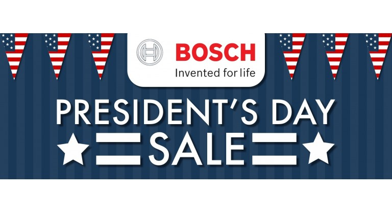Bosch Presidents Day