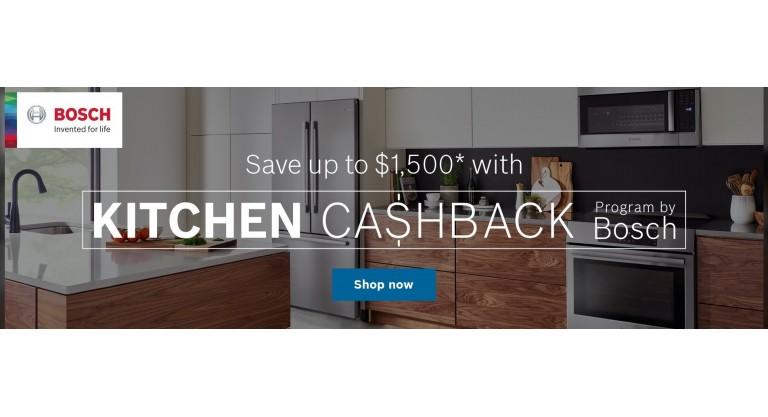 Bosch - Kitchen Cashback