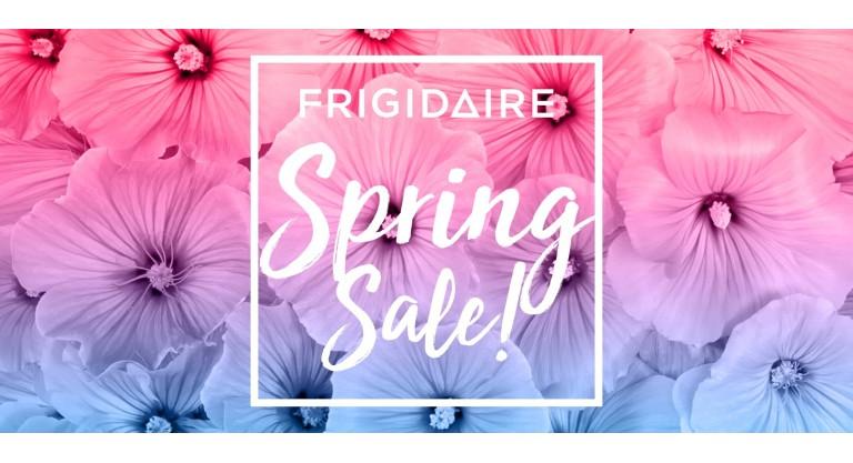 Frigidaire Spring Sale
