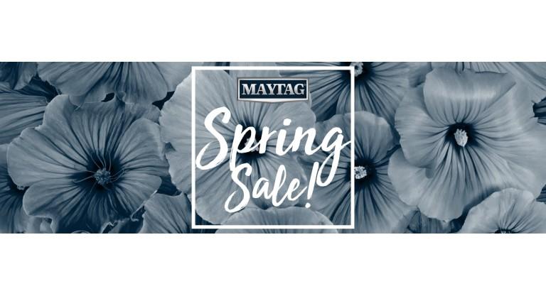 Maytag Spring Sale