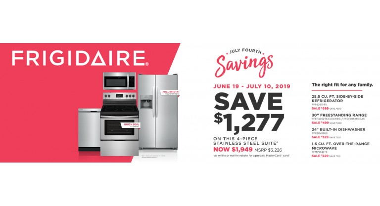 Frigidaire Package 1