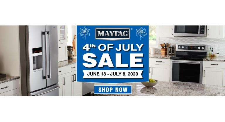 Maytag 4th of July 2020
