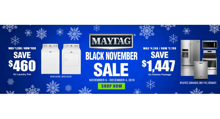 Maytag Black Friday