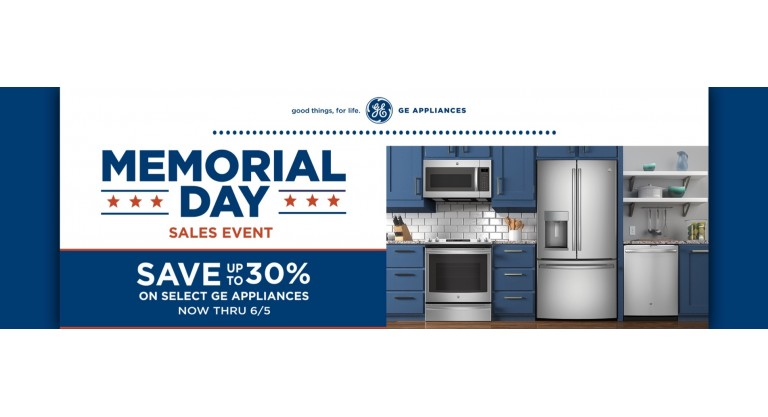 GE - Memorial Day Sale