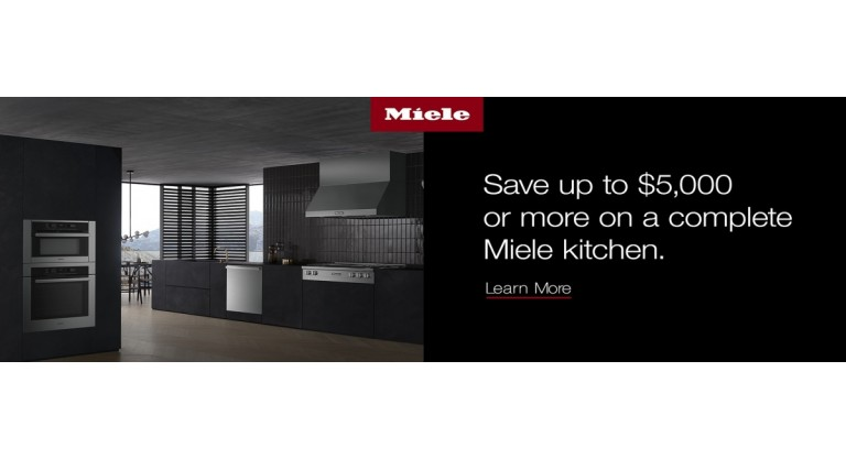 Miele Kitchen Promo Banner