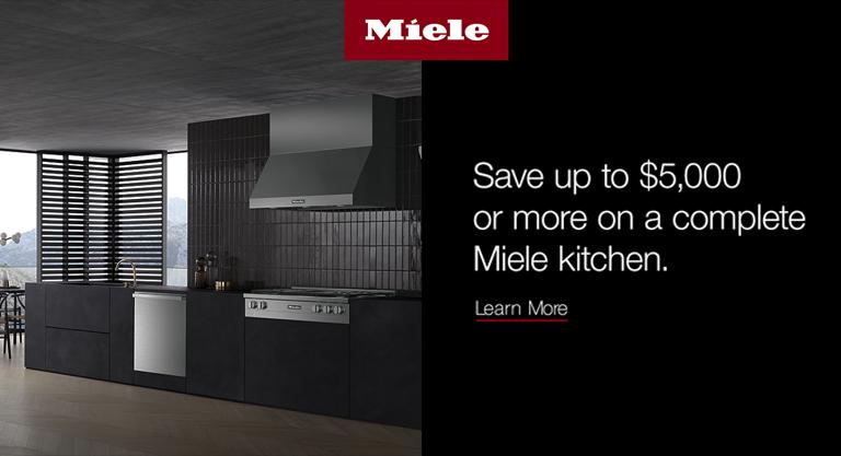 Miele Kitchen Promo Banner