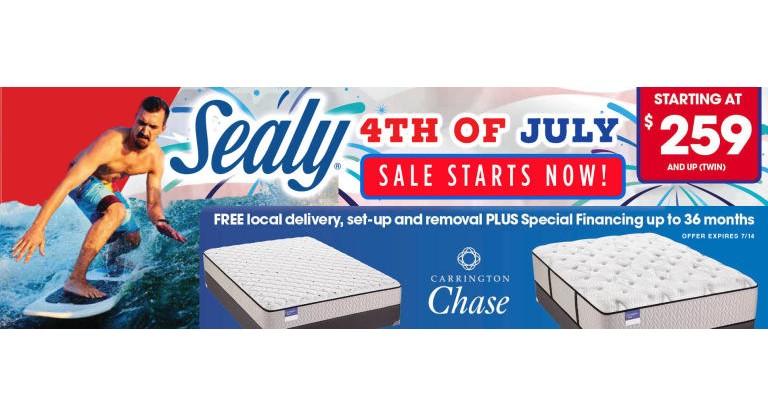 Sealu July 4th Banner
