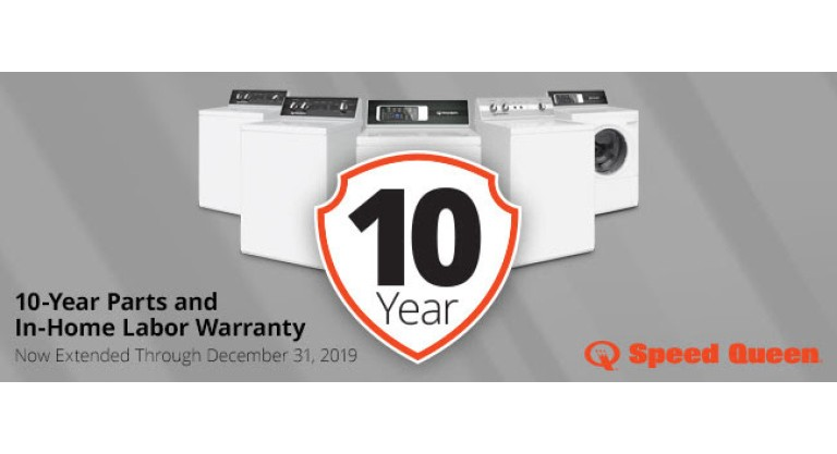 Speed Queen 10 Year Warranty
