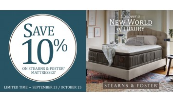 Stearns Columbus Day Sale
