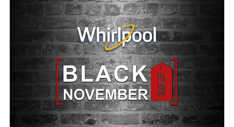Whirlpool Black November Sale