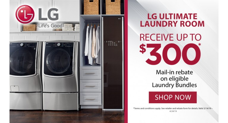 LG Ultimate Laundry Room