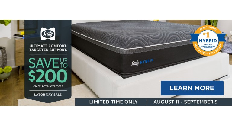 Sealy Labor Day Sale