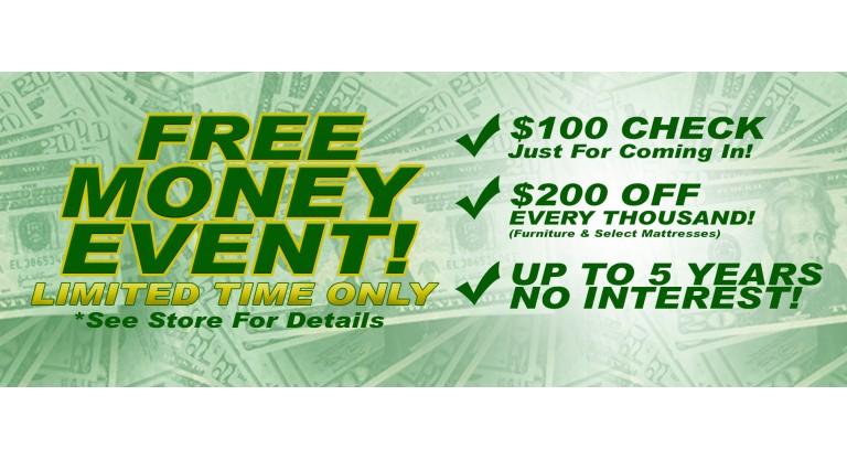 FREE MONEY EVENT