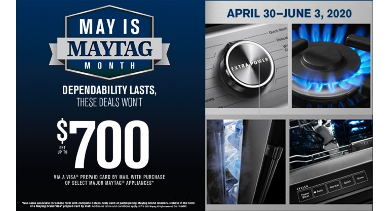 May is Maytag