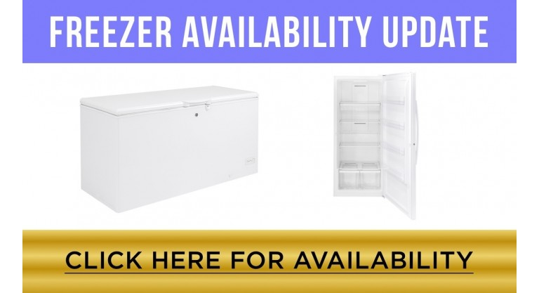 Freezer Availability Update