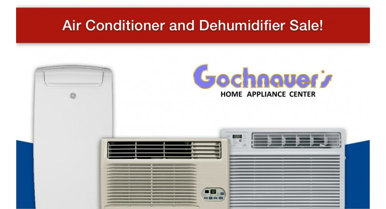 Air Conditioner and Dehumidifier Sale