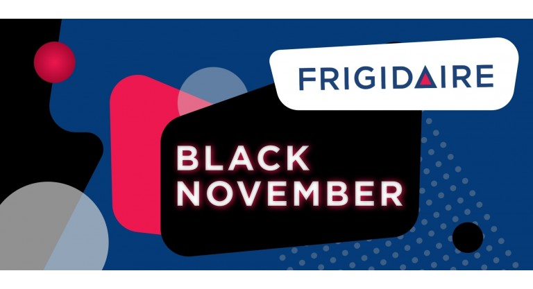 Frigidaire Black November Promotion