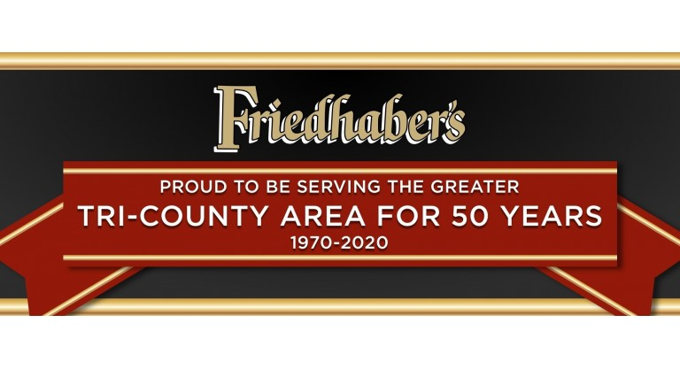 Friedhaber's: 50 YEARS