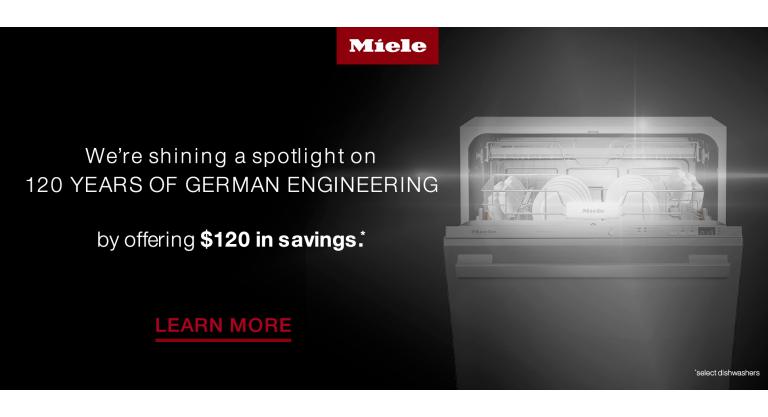 Miele 120 Year Anniversary - Dishwashers