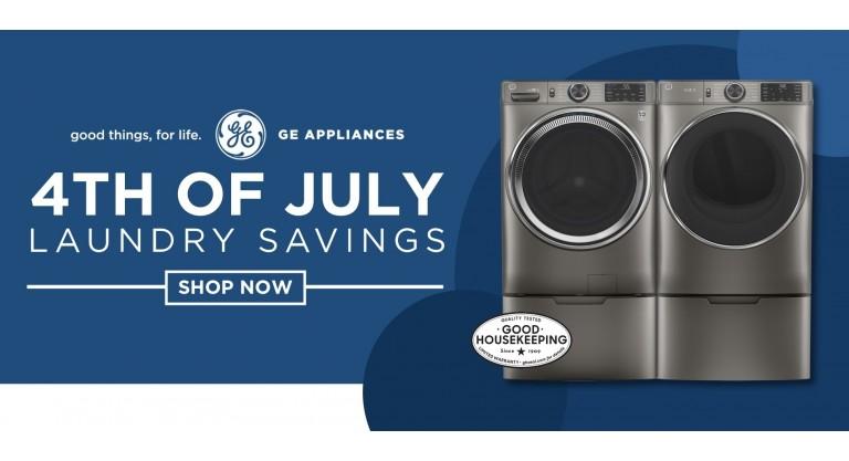GE July 4 Laundry Savings