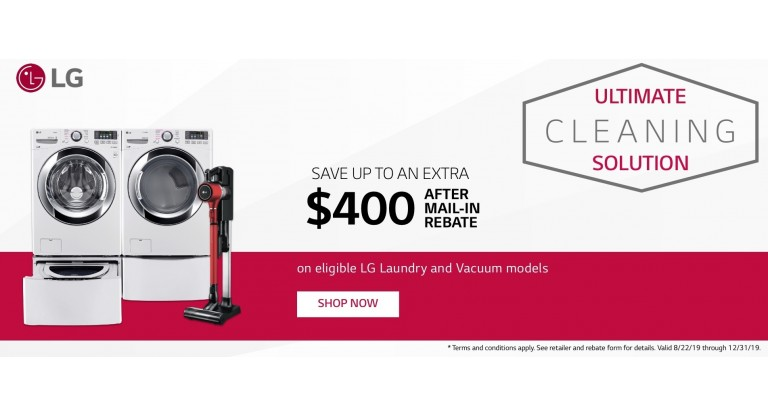 LG Ultimate Cleaning Solution