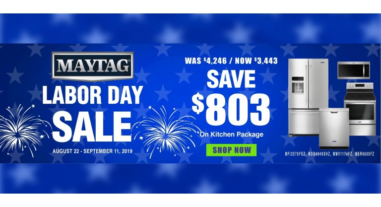 Maytag Labor Day Kitchen Package