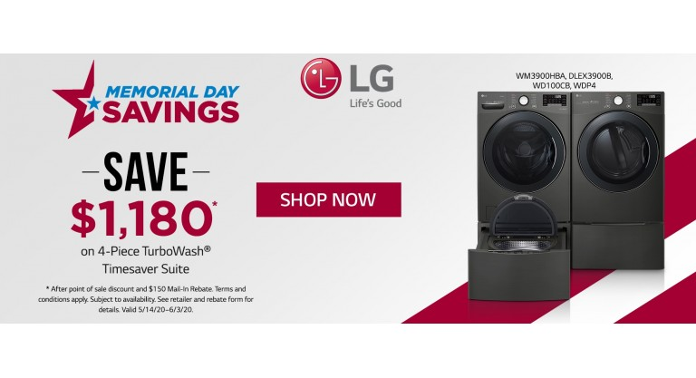LG Memorial Day 2020 Laundry