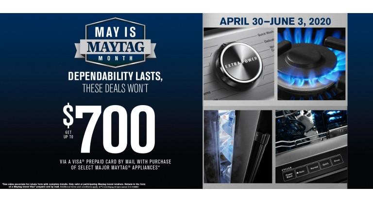 May is Maytag