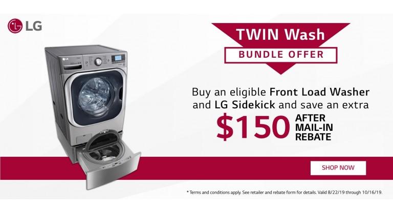 LG Twin Wash Bundle Wash