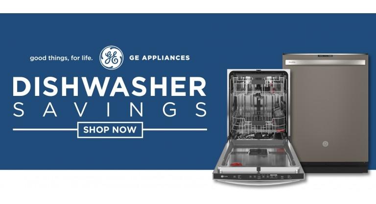 GE July 4 Dishwasher Savings