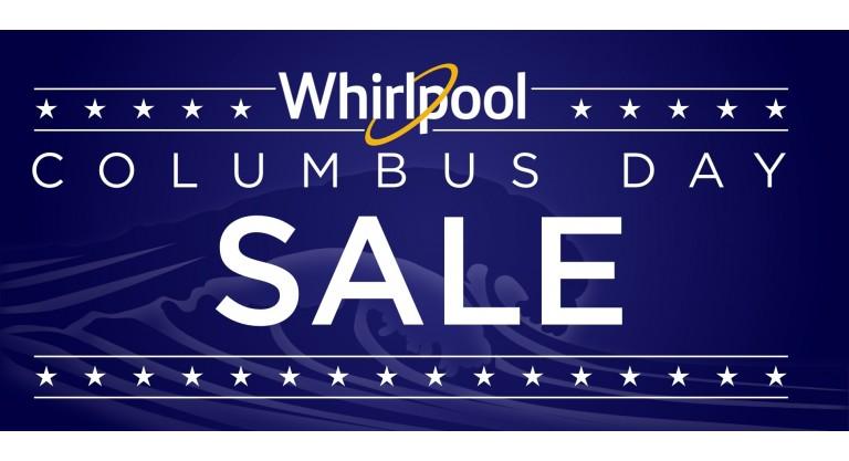 Whirlpool Columbus Day Promotion