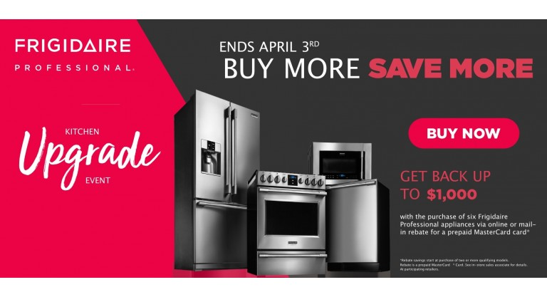 Frigidaire Professional - Kitchen Upgrade Event