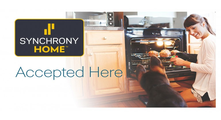 Synchrony Home Credit Cards Accepted Here!