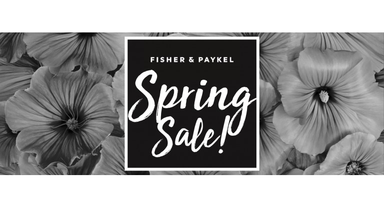Fisher and Paykel Spring Sale