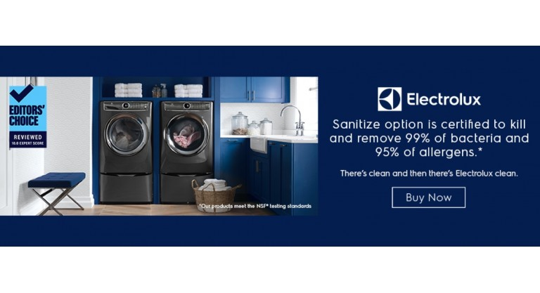 Electrolux: There's clean and then there's Electrolux clean