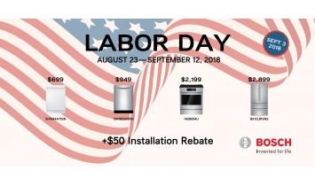 Bosch Labor Day