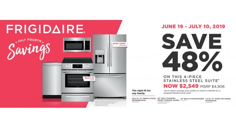 Frigidaire Package 3